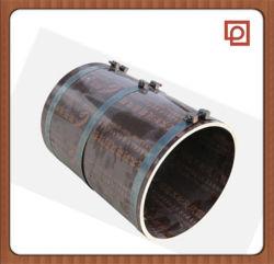 Otturatore circolare della colonna della cassaforma di legno concreta circolare per costruzione
