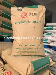 La meilleure qualité de la non-OGM Isolat de protéines de soja du prix de gros 90 %