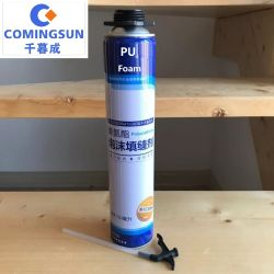 tipo adesivo della paglia 750ml dello spruzzo della gomma piuma di PU/Polyurethane