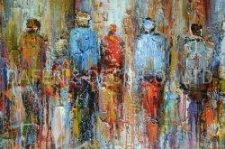 Impression nouvelle conception (DSC_4724) Huile sur toile artisanal Art décoratif mural