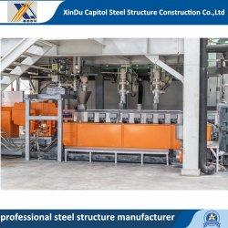 Costruzione poco costosa del magazzino di disegno della tettoia della fabbrica della costruzione della struttura d'acciaio della Cina