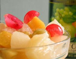 Conservas de frutas coquetel ou conservas de frutas