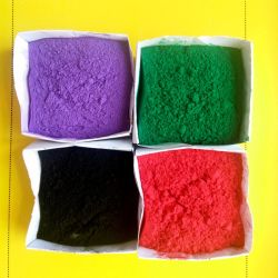 Fabricação de tintas e pigmentos de fornecimento de óxido de ferro vermelho/azul/preto/amarelo