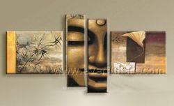 El Buda Face Oil Painting (BU-014)