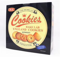 특별한 선물 상자 왕 버터 과자 OEM와 가진 Danisa 크라운 덴마크 과자는 건빵 주석 포장을 받아들인다