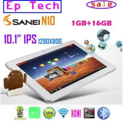 Sanei N10 태블릿 PC 10.1인치 Bluetooth 1280 * 800 해상도 IPS 스크린 듀얼 카메라 Android 4.0 태블릿 PC