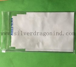 Sacchetti liberi superiori del PVC con la chiusura lampo per l'imballaggio della cancelleria