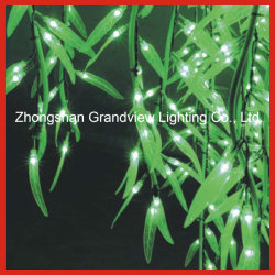 splendido LED Lights Willow Tree da 3 m per la via all'aperto di Natale Decorazione