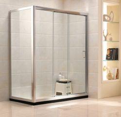 Sanitarios simple ducha de vidrio templado (G21)