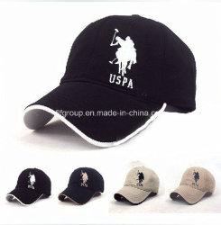 Рекламные 100% хлопок колпачки вышивкой логотипа колпачки Baseball Caps