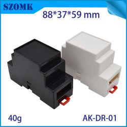 Het Slimme Plastic Geval van uitstekende kwaliteit van de Controle van het Spoor van de Bijlage Elektronische DIN