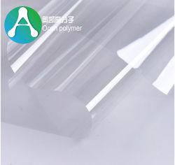Folha transparente fino de PVC para a formação de vácuo