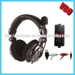 Qualitäts-Stereospiel-Kopfhörer für PS3/360/PC