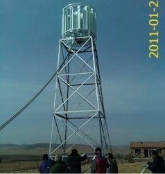 AC 220V 5kW 수직 축 풍력 터빈 발전기 세트(SHJ-WV5000)