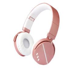 Neue 2021 Metall Sport Style Faltbare Wireless Earphone Office Wired ANC-Kopfhörer mit Geräuschreduzierung Ohrhörer mit Mikrofon