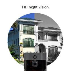 1080P Campainha da câmara de vídeo WiFi Campainha da Porta de vídeo sem fios da câmara HD Intercomunicador Telefone WiFi do anel de câmera para campainha Apartments