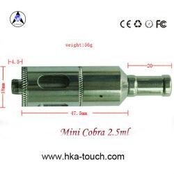스테인리스 분무기 소형 코브라 2.5ml Cartomizer 자아/510개비의 E 담배 분무기