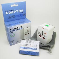 Chargeur USB Convertisseur UK US DE L'UE Au Bouchon électrique universel pour les voyages internationaux de l'adaptateur de prise de courant