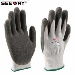 Seeway latex recouvertes de caoutchouc Hhpe gants résistants aux coupures