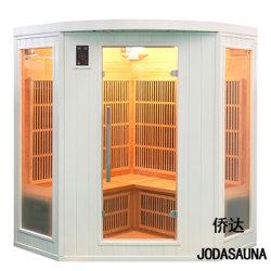 Accueil coin Portable en bois de luxe Sauna Infrarouge