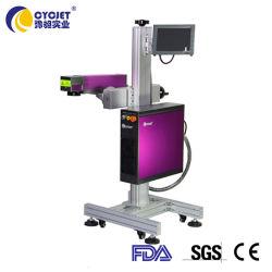 셀룰라 전화 카드에 Laser 표하기 기계를 인쇄하는 Cycjet 섬유 비행거리 Imformation