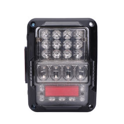 DOT/e certificat de marque de feu arrière à LED IP67 30W à LED de conception de recul arrière des feux arrière Signal de frein de marche arrière pour Wrangler de lumière LED Lampe à LED témoin de voiture