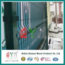 3D изогнутые металлические ограждения/ металлический сварной проволочной сеткой ограждения с складывается