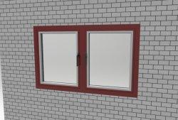 مزدوجة [غلينغ] نافذة ألومنيوم شباك نافذة مع [ثرملّي] يكسر قطة|علبيّة يعلّب شباك نافذة
