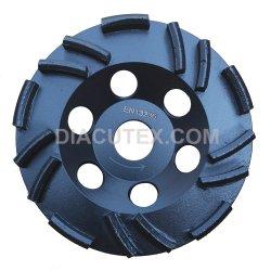 125mmの角度粉砕機のための具体的な粉砕のダイヤモンドの粉砕のコップの車輪