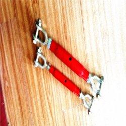 Torniquete Cerrado de la Carrocería de la Venta Caliente con Boday Pintado Rojo en el Estándar DIN1478
