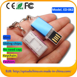 소형 회전대 USB 섬광 드라이브 1GB 2GB 4GB 8GB 16GB 32GB