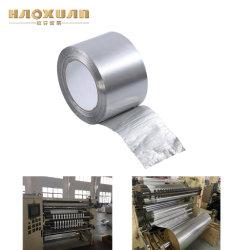 El aislamiento de fibra de vidrio negro cinta de aluminio