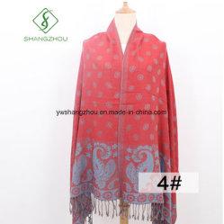 De nieuwste Sjaal van Pashmina van de Manier van de Sjaal van de Jacquard van de Stijl van Nepal Paisley Afgedrukte