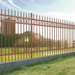 パネルを囲う庭のための錬鉄のやりの/Wroughtの鉄の芸術