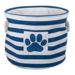 Pet recolhível Organizador cesto de armazenamento para cães brinquedos