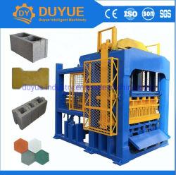 Gran capacidad hidráulica automática máquina de bloques de hormigón de Qt 10-15 Pavimentadora máquina de ladrillos en Africa