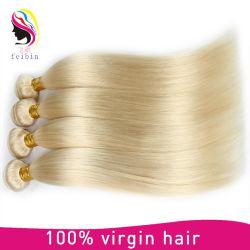 #Brésilien 613 Cheveux humains Le Tissage de cheveux raides #cheveux blonds