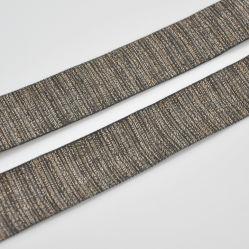 Or brillant Lurex bande ruban accessoires du vêtement en stock