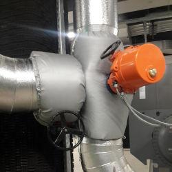 Anti-Corrosion и огнеупорные теплоизоляции чехол для земного шара клапана