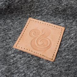 Auto-adhésif personnalisé de haute qualité Patch pour vestes en cuir