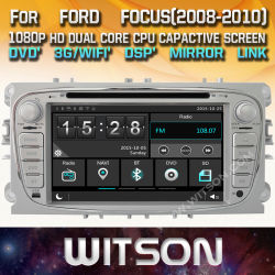 Voiture de l'écran tactile de Windows Witson DVD pour Ford Mondeo Focus 2008 S max.