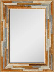 壁のミラーAntiqued青銅色のSunburst壁ミラーGF-P190527175