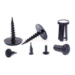 Moldes de injeção de plástico de nylon / Rebite cego rebite de cabeça de retenção / Freio da guarnição de plástico auto