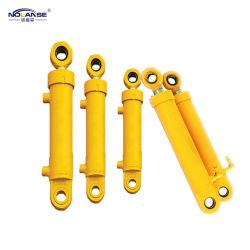 Comportarsi a semplice effetto o doppio del cilindro telescopico della macchina industriale della Heavy Industries di disegno della fabbrica cilindro standard o non standard dell'olio idraulico