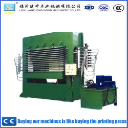 Usine de gros Prix Direct Presse à chaud de la machine pour le travail du bois 400/500T