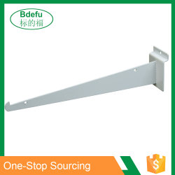 HochleistungsSlatwall Messer-Metall markiert hölzerne Regal-Support