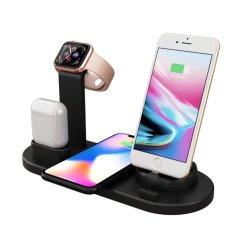 Зарядное устройство для беспроводной связи Airpods Iwatch iPhone