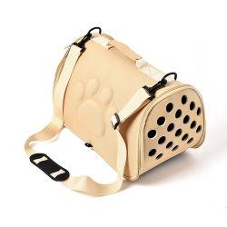 Пэт перевозчика для собак Cat складывания каркаса съемные ящик дамской сумочке пластиковые сумки для переноски животных принадлежности Sac-де-транспорта за Тьен