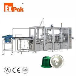 EU-populäre Kaffee-Kapsel-Verpackungs-füllende Dichtungs-Maschinen- Energie und Flüssigkeit