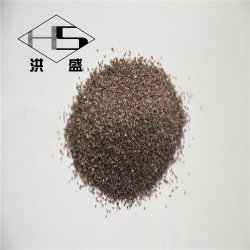 Fabriqué en Chine Blast Media blanc/ poudre d'oxyde d'aluminium brun/sable